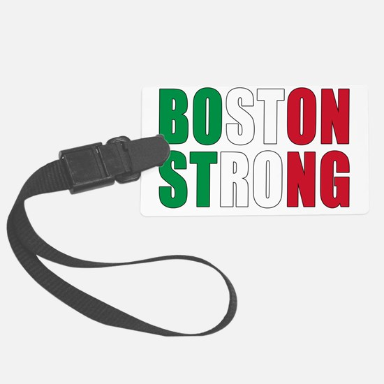 Italian Boston Pride Luggage Tag