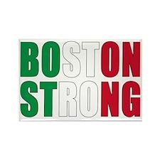 Italian Boston Pride Rectangle Magnet