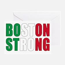 Italian Boston Pride Greeting Card