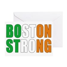 Irish Boston pride Greeting Card