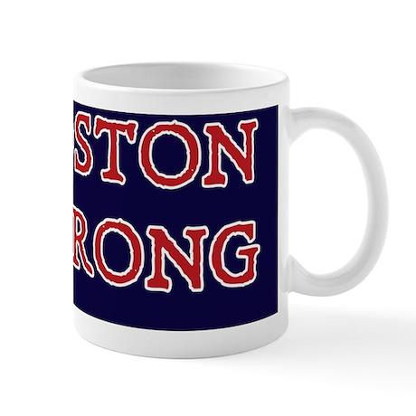 Boston Strong Ribbon Mug