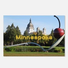 Minneapolis_5x3rect_stick Postcards (Package of 8)