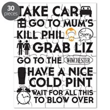 SHAUN OF THE DEAD THE PLAN BLACK 3 Puzzle