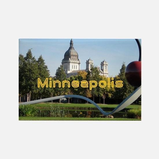 Minneapolis_5x3rect_sticker_Spoon Rectangle Magnet