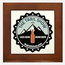 The Trail Show - New Logo Framed Tile