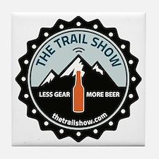 The Trail Show - New Logo Tile Coaster