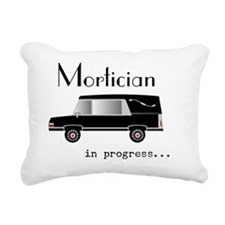 Mortician in progress Rectangular Canvas Pillow