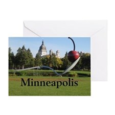 Minneapolis_10X8_puzzle_SpoonbridgeA Greeting Card