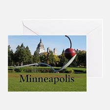 Minneapolis_10X8_puzzle_SpoonbridgeA Greeting Card