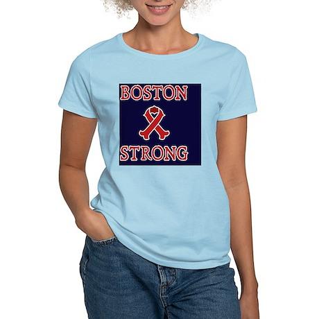 Boston Strong Ribbon Women's Light T-Shirt