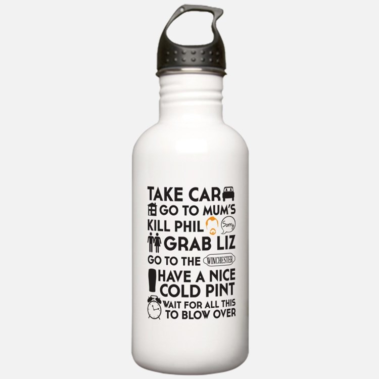 SHAUN OF THE DEAD THE  Water Bottle