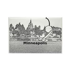 Minneapolis_10.2X7.6_Spoonbridge  Rectangle Magnet