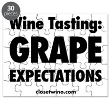 Grape Expectations Label Puzzle