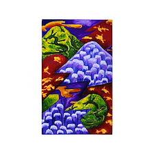 Dragonland - Green Dragons 3'x5' Area Rug