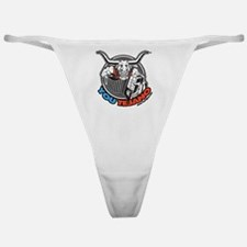 You Tejano Texas Steer Classic Thong