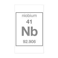 Niobium Rectangle Decal