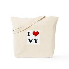 I Love VY Tote Bag