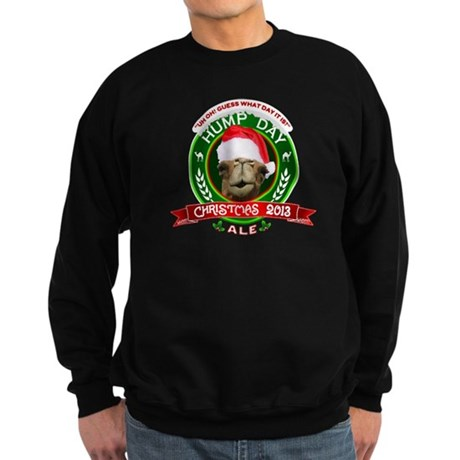 Hump Day Camel Christmas Ale Label Sweatshirt