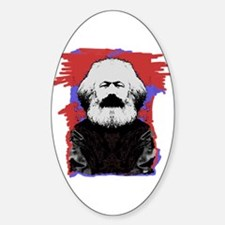 Marx Oval Decal