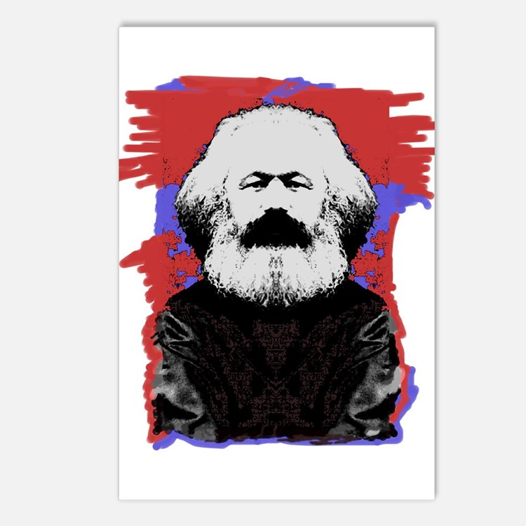 Marx Postcards (Package of 8)