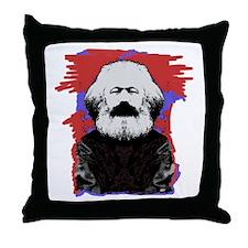 Marx Throw Pillow