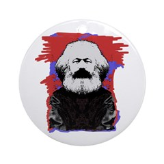Marx Ornament (Round)