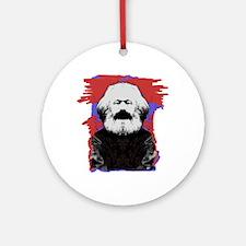 Marx Ornament (Round)