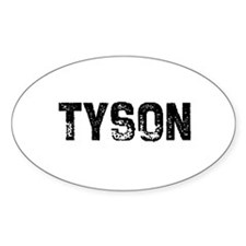 Tyson Oval Decal