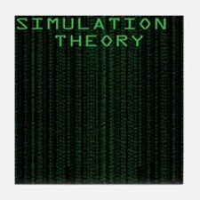 Simulation Theory Tile Coaster
