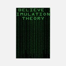 Simulation Theory Rectangle Magnet