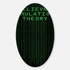 Simulation Theory Decal