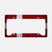 Denmark flag License Plate Holder