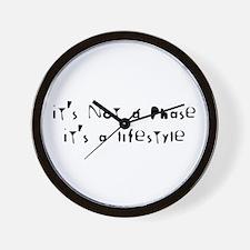 Lifestyle... Wall Clock