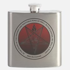 Bloodfire Ineffable King of Hell Baphomet Flask