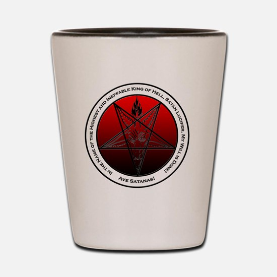 Bloodfire Ineffable King of Hell Baphom Shot Glass
