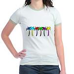 Palm Trees Jr. Ringer T-Shirt