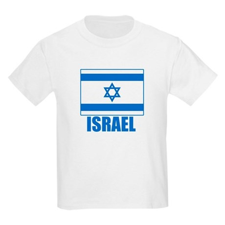 Israel Flag Kids Light T-Shirt