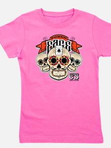 Cheststache Poker Face T-Shirt Girl's Tee