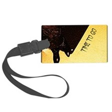 Time to go Luggage Tag