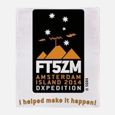 FT5ZM Vertical Supporter Throw Blanket