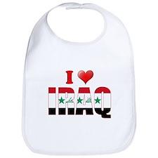 I love Iraq Bib