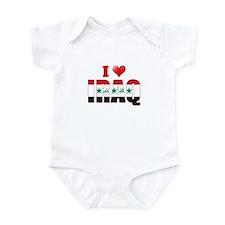 I love Iraq Infant Bodysuit