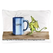 Morning Coffee Pillow Case