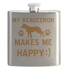Beauceron dog breed designs Flask
