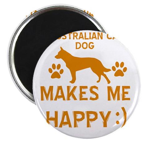 Australian cattle dog designs Magnet