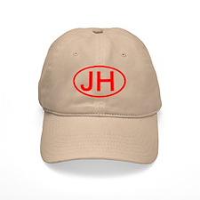 JH Oval (Red) Baseball Cap