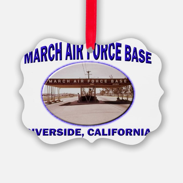 March Air Force Base Ornament