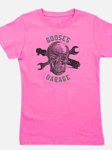 Gooses Garage New Skull Design for Dark Girl's Tee