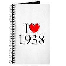 """""""I Love 1938"""" Journal"""