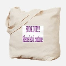 """Speak Out"" Tote Bag"